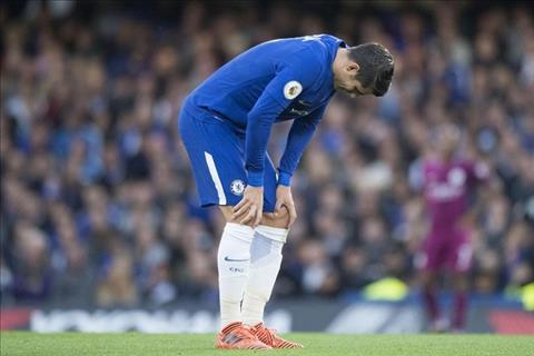Chelsea da the nao khi khong co tien dao Alvaro Morata  hinh anh