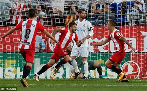 Tong hop Girona 2-1 Real Madrid (Vong 10 La Liga 201718) hinh anh