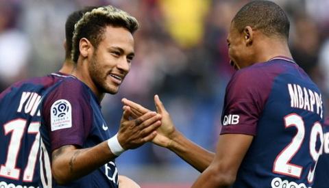 Paris Saint Germain gay soc khi thuc hien vu chuyen nhuong ky luc Neymar.