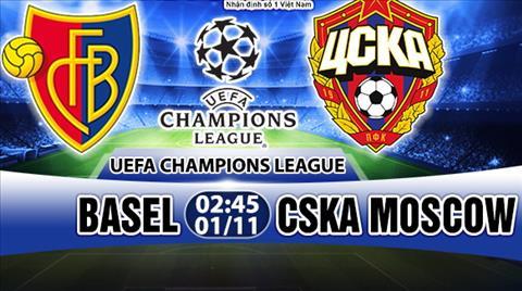 Nhan dinh Basel vs CSKA Moscow 02h45 ngay 0111 (Champions League 201718) hinh anh
