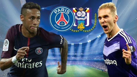 Nhan dinh PSG vs Anderlecht 02h45 ngay 111 (Champions League 201718) hinh anh