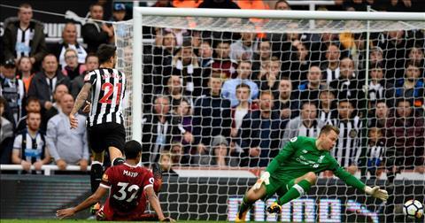 Joselu Newcastle 1-1 Liverpool