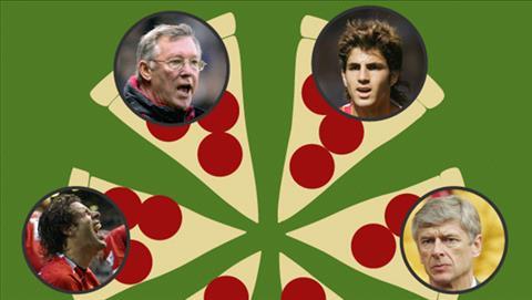 Cesc Fabregas thua nhan vu nem pizza vao mat Sir Alex Ferguson hinh anh
