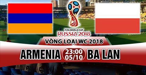 Nhan dinh Armenia vs Ba Lan 23h00 ngay 510 (VL World Cup 2018) hinh anh