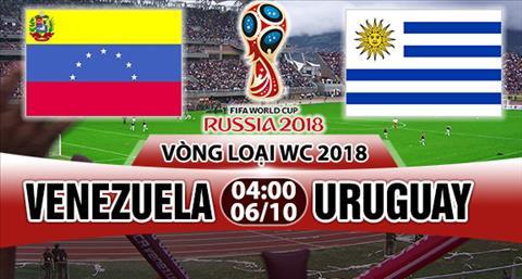 Nhan dinh Venezuela vs Uruguay 4h00 ngay 610 (VL World Cup 2018) hinh anh