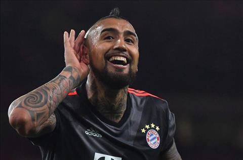 Bayern muốn bán Vidal giá 30 triệu Euro cho 2 đại gia thành Milan hình ảnh