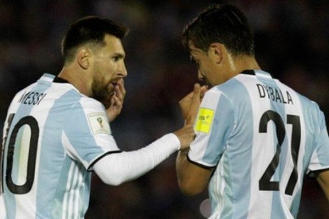 Dybala va Messi
