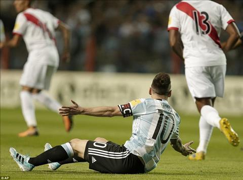 Tong hop Argentina 0-0 Peru (Vong loai World Cup 2018) hinh anh
