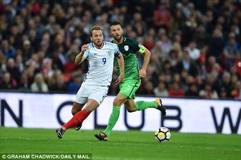 Anh 1-0 Slovenia Ban thang muon cua Kane dua Tam su toi Nga hinh anh