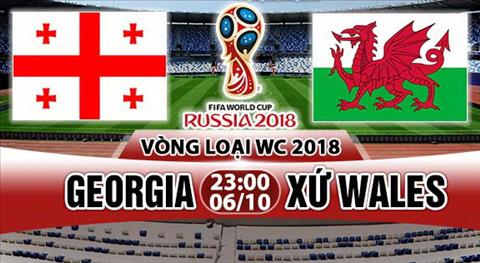 Nhan dinh Georgia vs Wales 23h00 ngay 610 (VL World Cup 2018) hinh anh