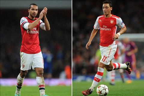 Arsenal da co quyet dinh ve tuong lai cua Walcott va Ozil hinh anh