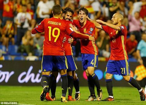 TBN 3-0 Albania Thang to, La Roja chinh thuc co mat o VCK World Cup 2018 hinh anh