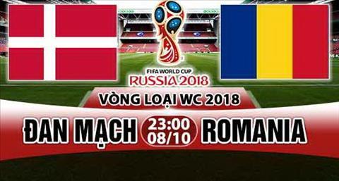 Nhan dinh Dan Mach vs Romania 23h00 ngay 810 (VL World Cup 2018) hinh anh