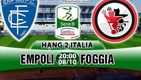 Nhan dinh Empoli vs Foggia 20h00 ngay 810 (Hang 2 Italia 201718) hinh anh