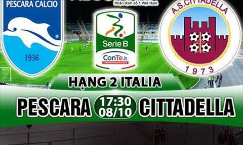 Nhan dinh Pescara vs Cittadella 17h30 ngay 810 (Hang 2 Italia 201718) hinh anh