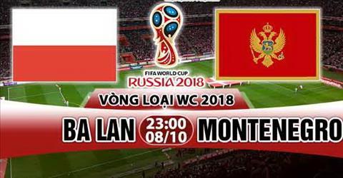Nhan dinh Ba Lan vs Montenegro 23h00 ngay 810 (VL World Cup 2018) hinh anh