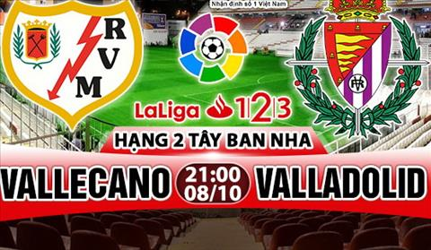 Nhan dinh Vallecano vs Valladolid 21h00 ngay 810 (Hang 2 TBN 201718) hinh anh