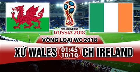 Nhan dinh Wales vs Ireland 01h45 ngay 1010 (VL World Cup 2018) hinh anh