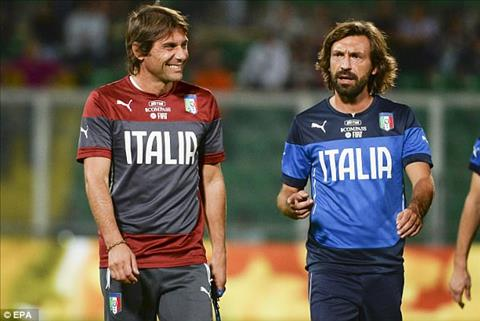 Pirlo co the gia nhap Chelsea vi Conte hinh anh