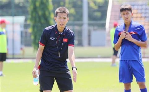U19 Viet Nam tap nang, HLV Hoang Anh Tuan mo World Cup hinh anh