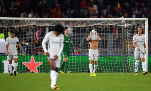 AS Roma 3-0 Chelsea 1