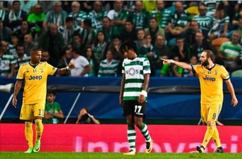 Sporting Lisbon 1-1 Juventus Lao ba suyt nga tai BDN hinh anh