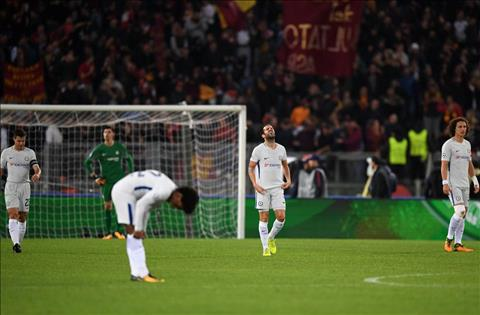 Roma 3-0 Chelsea Khi Conte qua tay voi nhung thay doi hinh anh