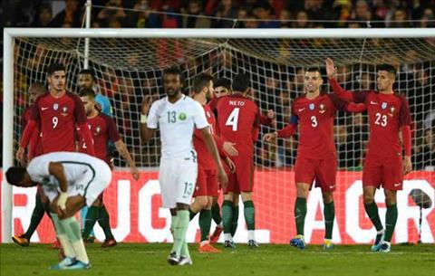 Tong hop Bo Dao Nha 3-0 Saudi Arabia (Giao huu quoc te) hinh anh