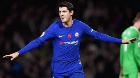 Alvaro Morata tuyen bo se tro lai Real Madrid khi da no ne danh hieu cung Chelsea.