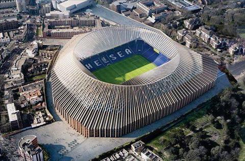 Chelsea tam hoan ke hoach xay san moi hinh anh