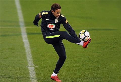 Bo Neymar len tieng ve thuong vu con trai toi Real hinh anh