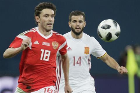 Nga 3-3 Tây Ban Nha (Giao hữu quốc tế)