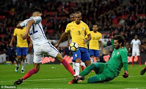 Tong hop Anh 0-0 Brazil (Giao huu quoc te) hinh anh