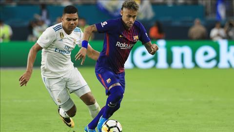 Tien ve Casemiro chao don Neymar den Real Madrid hinh anh