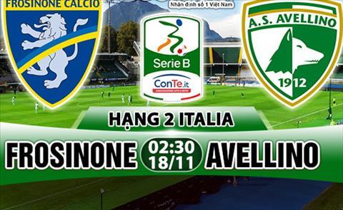 Nhan dinh Frosinone vs Avellino 02h30 ngay 1811 (Hang 2 Italia 201718) hinh anh