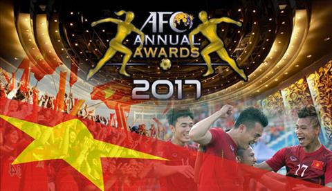 VFF co 2 de cu giai thuong nam 2017 cua AFC hinh anh