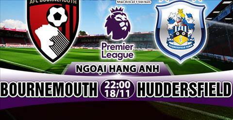 Nhan dinh Bournemouth vs Huddersfield 22h00 ngay 1811 (Premier League 201718) hinh anh