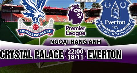 Nhan dinh Crystal Palace vs Everton 22h00 ngay 1811 (Premier League 201718) hinh anh