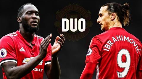 HLV Mourinho tu tin ve kha nang ket hop Ibra voi Lukaku hinh anh