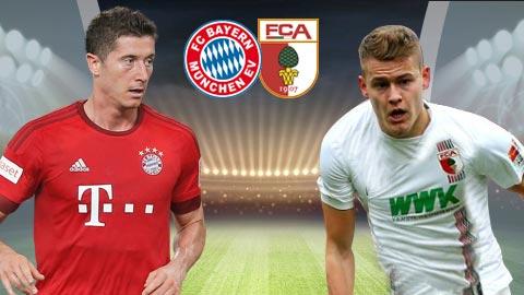 Nhan dinh Bayern Munich vs Augsburg 21h30 ngay 1811 (Bundesliga 201718) hinh anh
