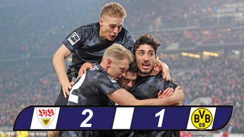 Stuttgart 2-1 Dortmund Ben bo vuc khung hoang hinh anh