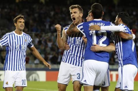 Nhan dinh Sociedad vs Vardar 03h05 ngay 311 (Europa League 201718) hinh anh