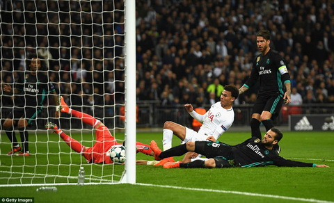 Day la tran thua dam nhat cua Real Madrid duoi thoi HLV Zinedine Zidane.