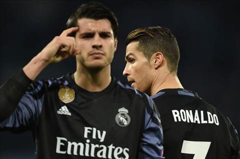 Tien dao Cristiano Ronaldo noi ve viec Real sa sut hinh anh