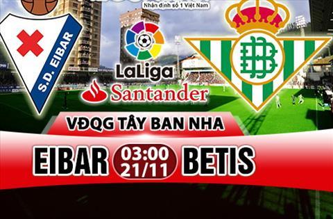 Nhan dinh Eibar vs Betis 03h00 ngay 2111 (La Liga 201718) hinh anh