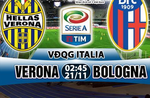 Nhan dinh Verona vs Bologna 02h45 ngay 2111 (Serie A 201718) hinh anh