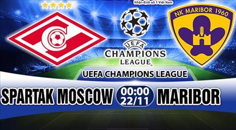 Nhan dinh Spartak Moscow vs Maribor 00h00 ngay 2211 (Champions League 201718) hinh anh