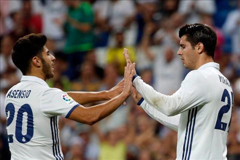 Asensio da deu Morata chuyen bo Real Madrid hinh anh