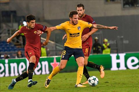 Nhan dinh Atletico Madrid vs Roma 02h45 ngay 2311 (Champions League 201718) hinh anh