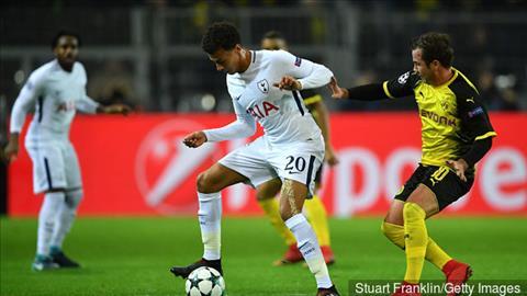 Dortmund 1-2 Tottenham Spurs thuc su dang so hinh anh 2